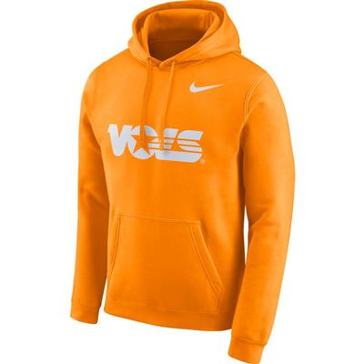 Tennessee Nike Fleece Club Pullover Hoodie