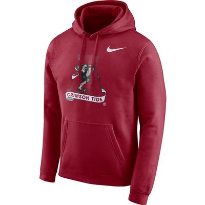 Alabama Nike Fleece Club Pullover Hoodie