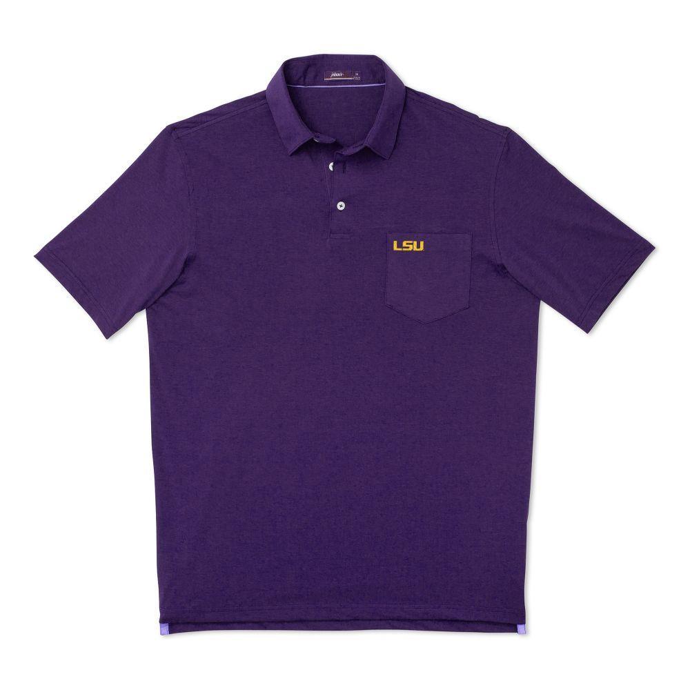 Lsu Johnnie- O Men's Harvey Pocket Polo