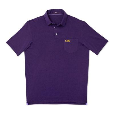 LSU Johnnie-O Men's Harvey Pocket Polo