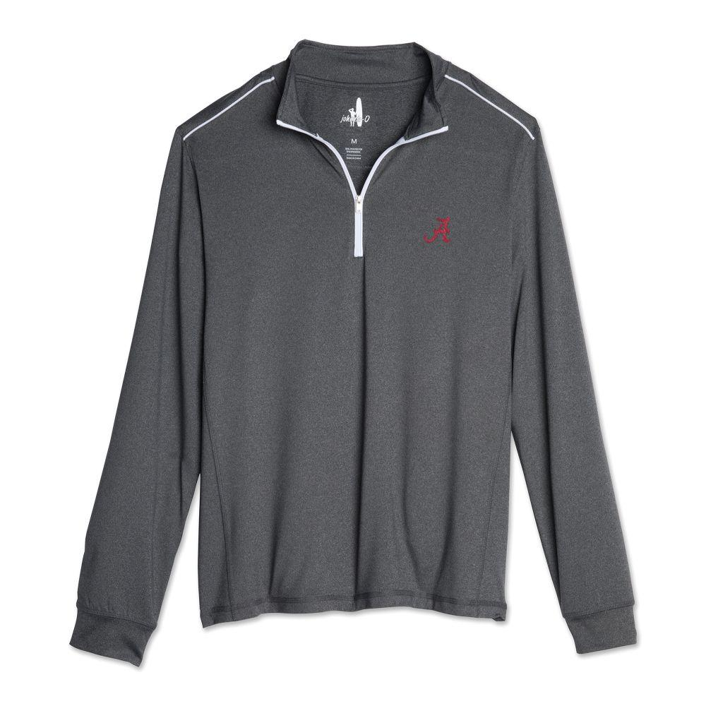 Alabama Johnnie- O Men's Lammie 1/4 Zip Pullover