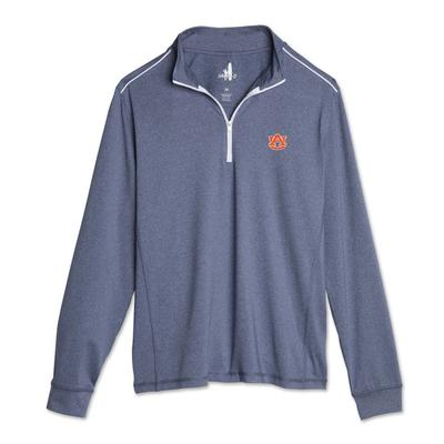 Auburn Johnnie-O Men's Lammie 1/4 Zip Pullover