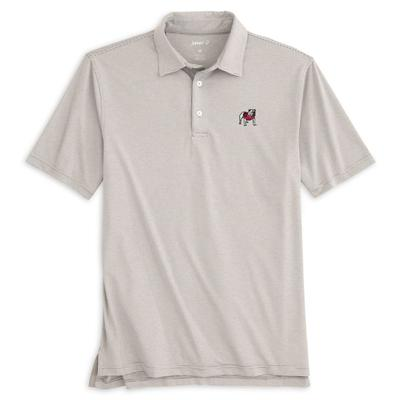 Georgia Johnnie-O Men's Lyndon Polo METEOR