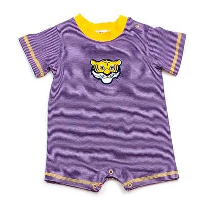 LSU Ishtex Infant Boy Romper