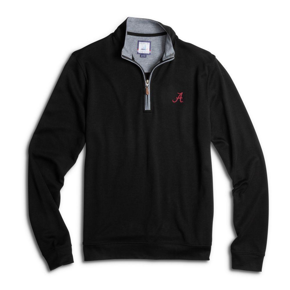 Alabama Johnnie- O Men's Sully 1/4 Zip Pullover