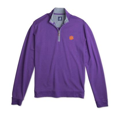 Clemson Johnnie-O Men's Sully 1/4 Zip Pullover