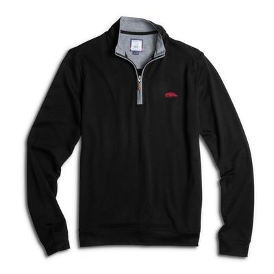 Arkansas Johnnie-O Men's Sully 1/4 Zip Pullover