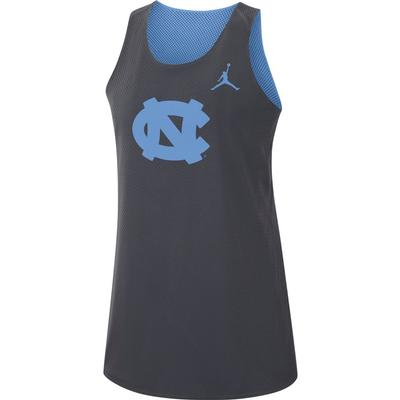UNC Women's Jordan Brand Dri-FIT Mesh Basketball Tank Top