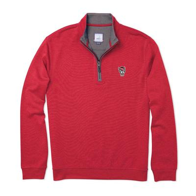 NC State Johnnie-O Men's Sully 1/4 Zip Pullover