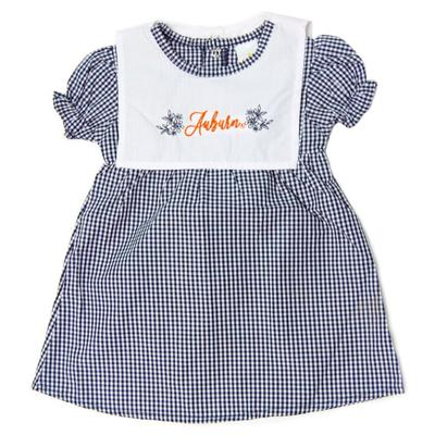 Auburn Little Kings Infant Gingham Dress