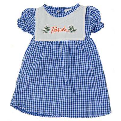 Florida Little Kings Infant Gingham Dress