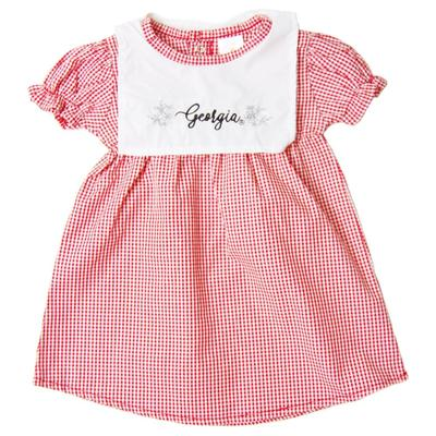 Georgia Little Kings Infant Gingham Dress