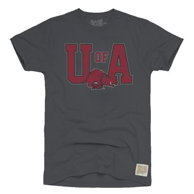 Arkansas Retro Brand Youth UA Tee