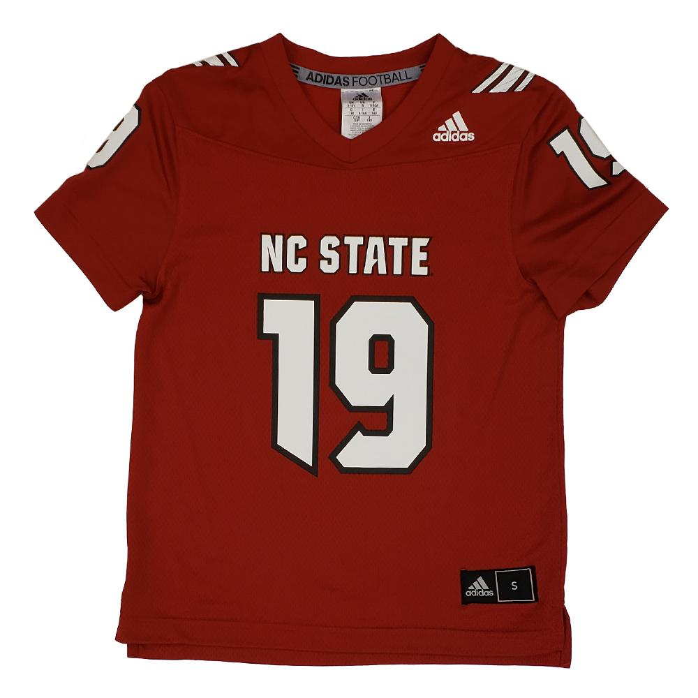 Nc State Adidas Youth Replica 19 Jersey