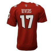 Nc State Adidas Men's # 17 Rivers Nflpa Replica Jersey