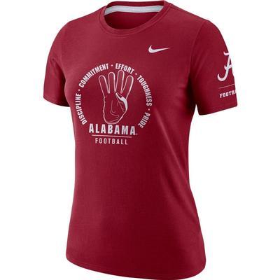 Alabama Women's Nike Statement Short Sleeve Tee