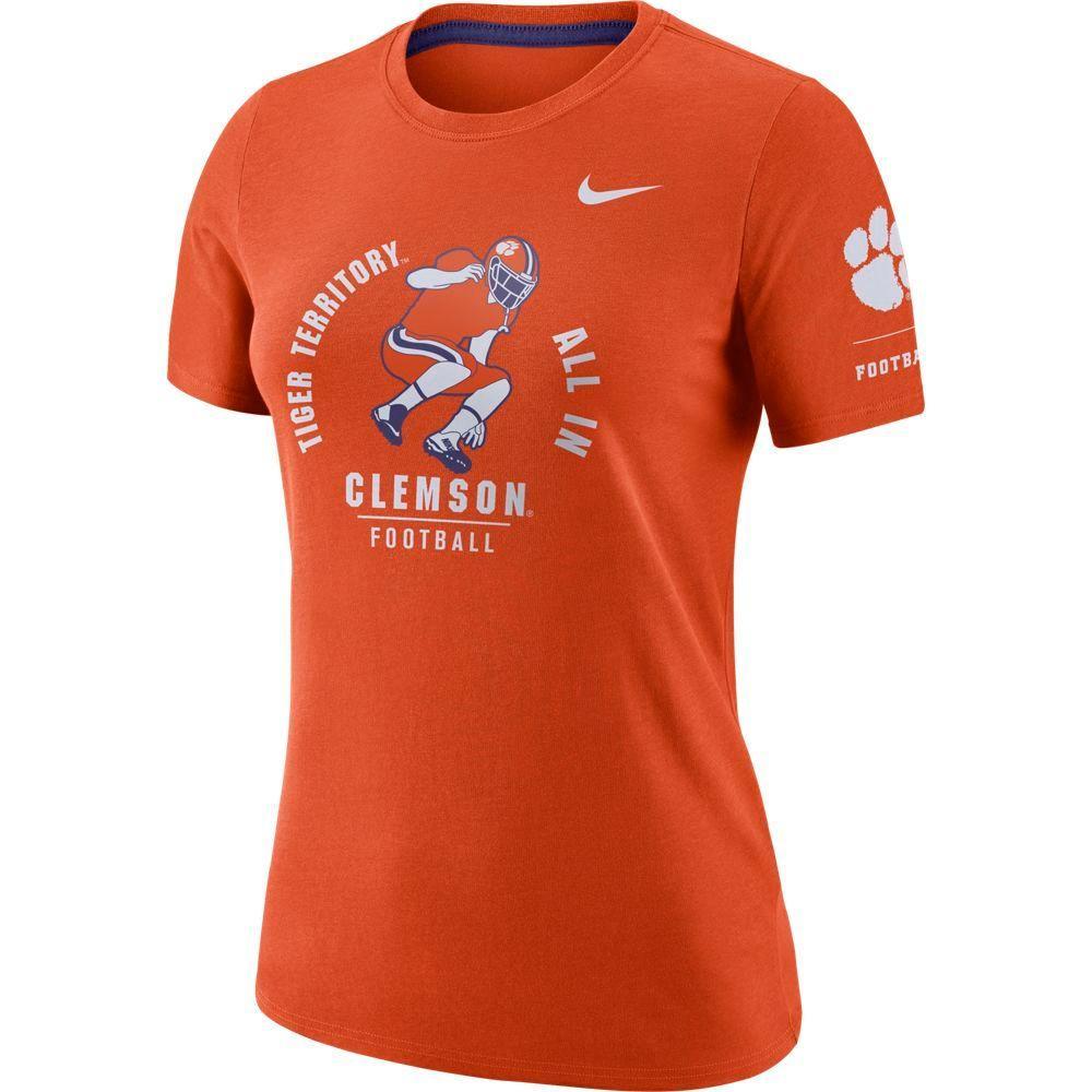 Clemson Women's Nike Statement Short Sleeve Tee