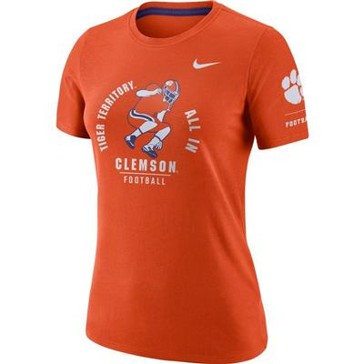Clemson Women's Nike Statement Short Sleeve Tee