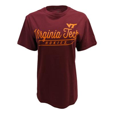 Virginia Tech Thin Script T-Shirt