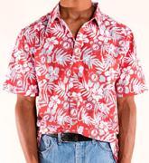 Alabama Tellum And Chop Floral Print Hawaiian Shirt
