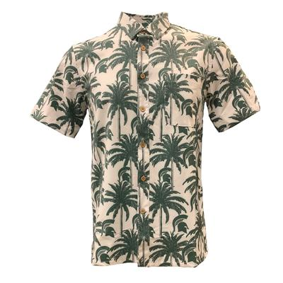 Michigan State Tellum and Chop Palm Printed Hawaiian Shirt