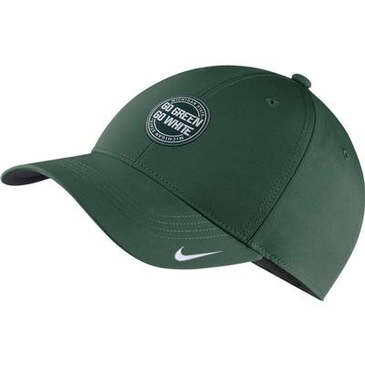 Michigan State Nike L91 Dry Rivalry Hat