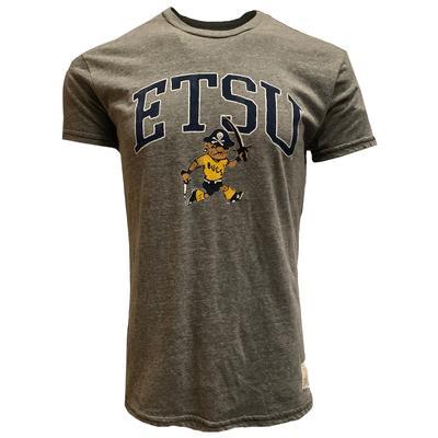 ETSU Retro Bucky Arch Short Sleeve Tee