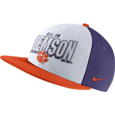 Clemson Nike Pro Rivalry Snapback Hat