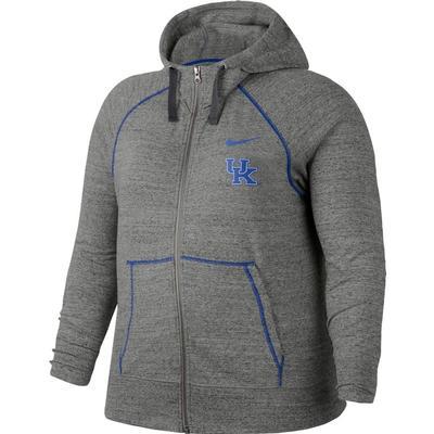 Kentucky Nike Vintage Gym Full Zip Hoodie - Plus Sizes