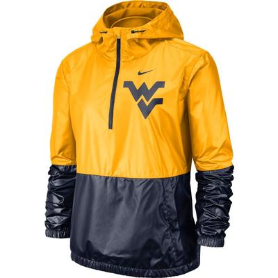 West Virginia Nike Women's Anorak Jacket