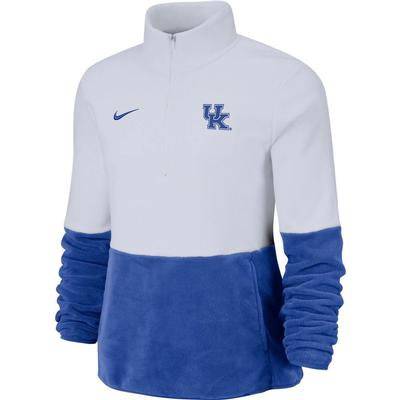 Kentucky Nike Women's Therma Half Zip Fleece Pullover