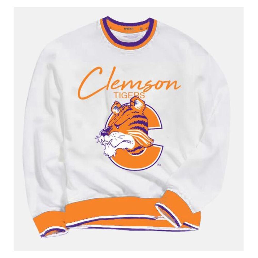 Clemson Hillflint Women's Tiger C Vault Sweatshirt