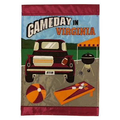 Game Day In Virginia Garden Flag