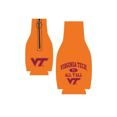 Virginia Tech Vs. All Y'all Bottle Hugger