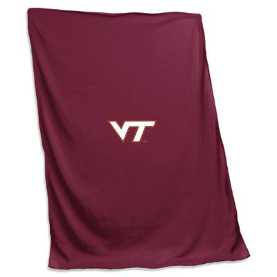 Virginia Tech Jersey Sweatshirt Blanket