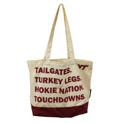 Virginia Tech Favorite Things Tote Bag