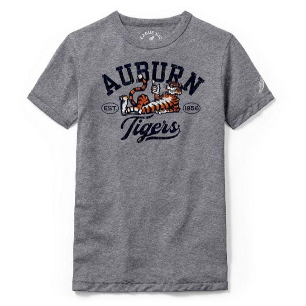 Auburn League Youth Original Aubie Script Tee Shirt