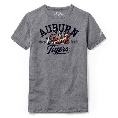Auburn League Youth Original Aubie Script Tee Shirt