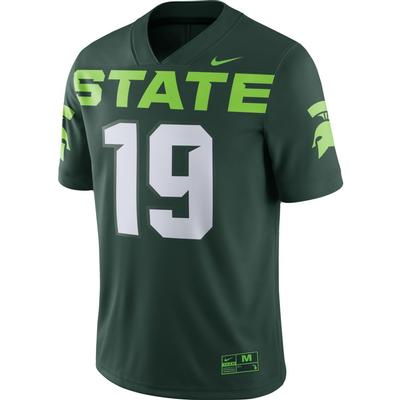 Michigan State Nike #19 Football Alt Game Jersey