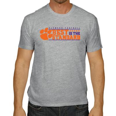 Clemson Men's Best is the Standard Tee Shirt