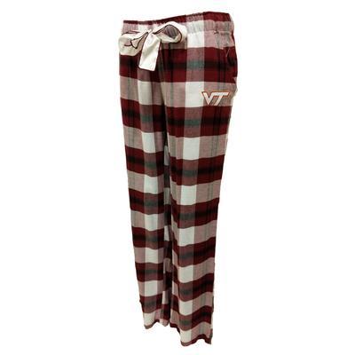 Virginia Tech Piedmont Flannel Pant