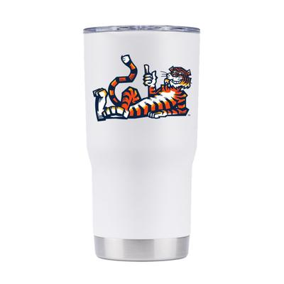 Auburn Gametime Vault Laying Original Aubie 20oz Tumbler with Lid