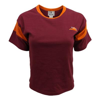 Virginia Tech Hillflint Women's Tech State Logo Varsity Tee Shirt