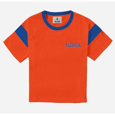 Florida Hillflint Women's Vault Block Logo Varsity Tee Shirt