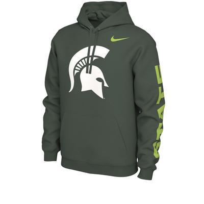 Michigan State Nike Alt Jersey Hoodie