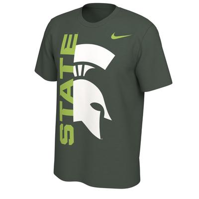 Michigan State Nike Alt Logo Tee