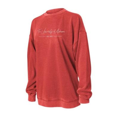 Alabama Chicka-D Women's Campus Crew Sweatshirt