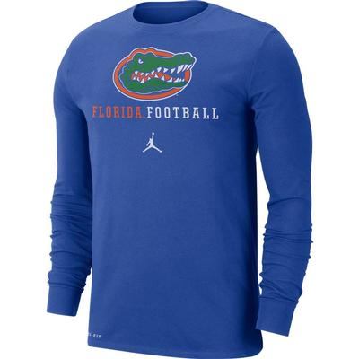 Florida Nike Dri-FIT Cotton Long Sleeve T-Shirt