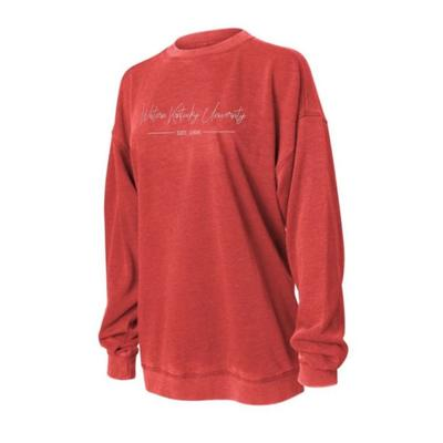 Western Kentucky Chicka-D Women's Campus Crew Sweatshirt