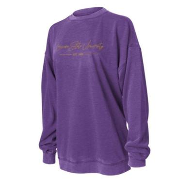 LSU Chicka-D Women's Campus Crew Sweatshirt